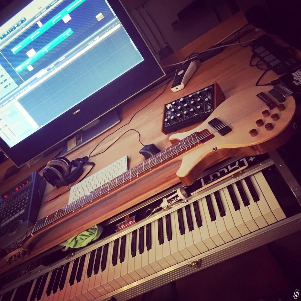 Moog Minitaur Doepfer Touch Guitars AU8